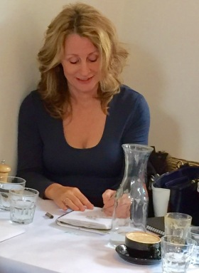 Kate sketching Gassworks