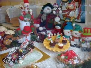 Bakery Xmas window