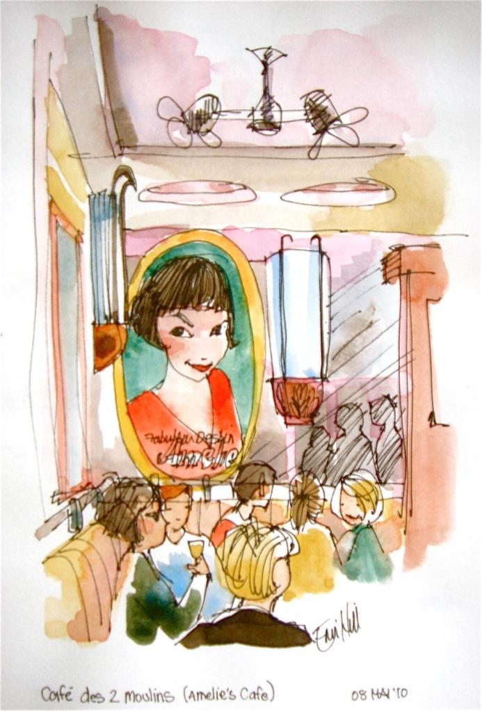 Amelie's Cafe. Les Deux Moulins