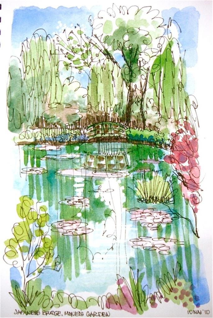 Japanese Bridge, Monet's Garden