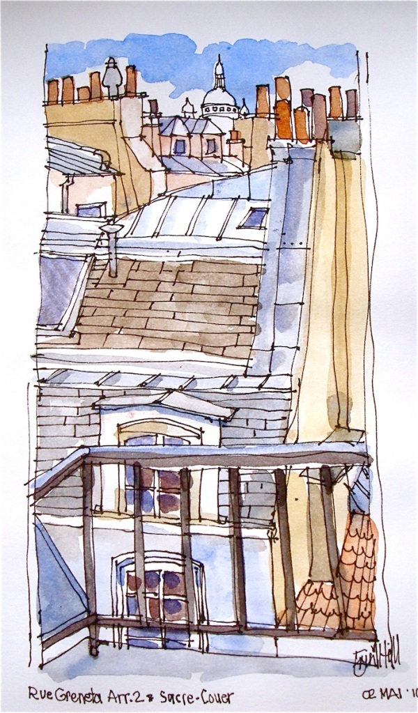 Rooftops to Sacre- Couer