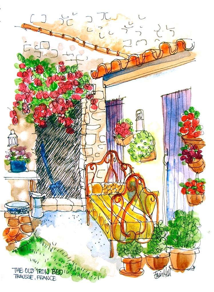 From the doorway of Summer Kitchen
