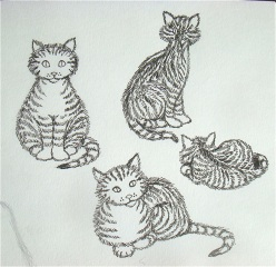 New Milo the Cat Drawings