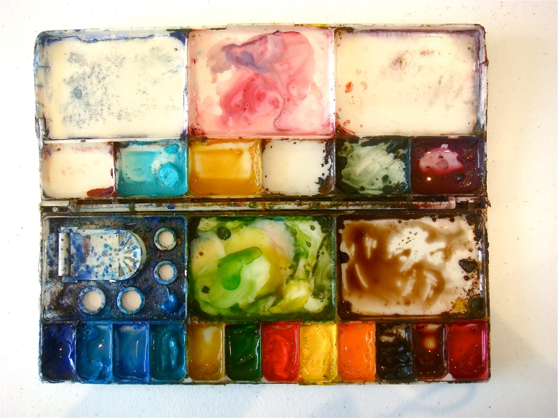 My Old Paint Palette