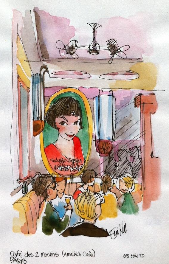 Amelie's Cafe Montmartre