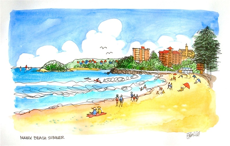 Manly Beach Summer
