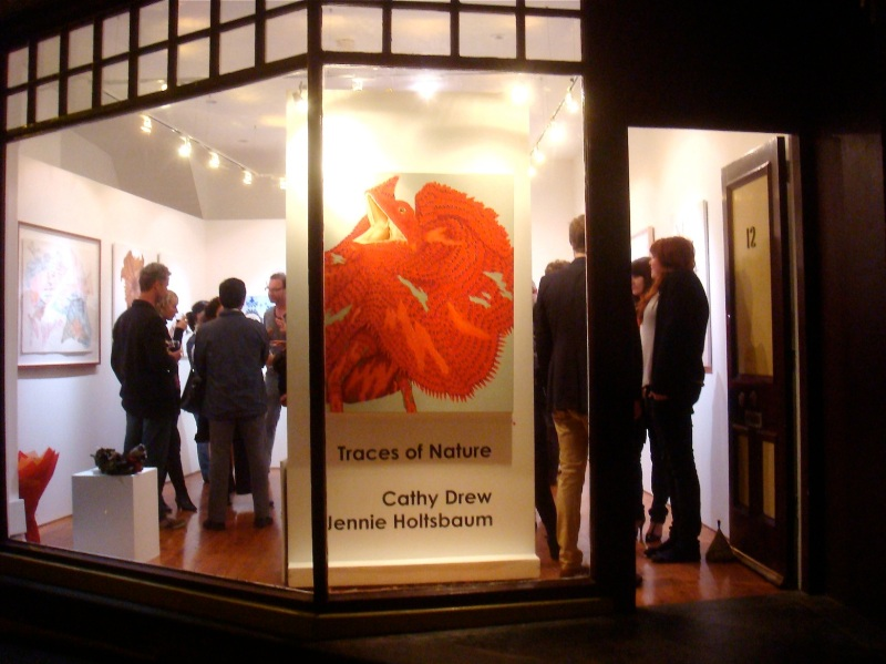 Opening at Gallery8, Sydney