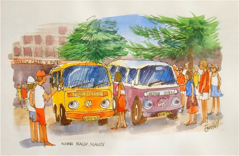 Two Kombi Vans