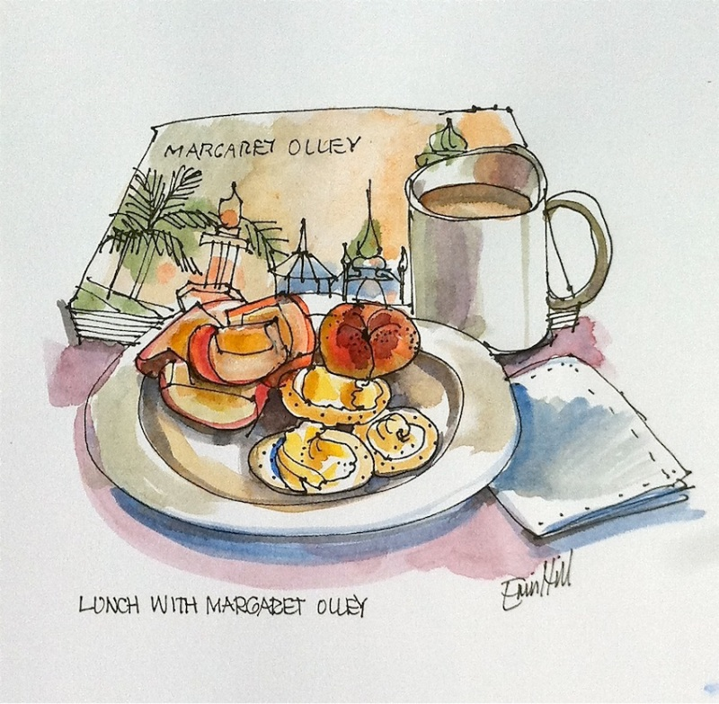 Lunch with Margaret Olley