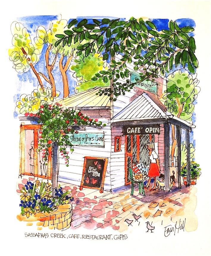 Cafe at Kurrajong Village