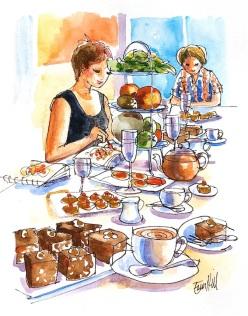 Sketchclub Afternoon Tea