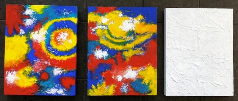 Colour Texture X 3