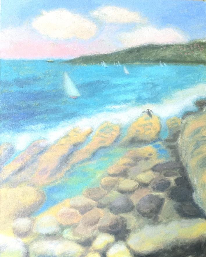 Waves on Rocks 2