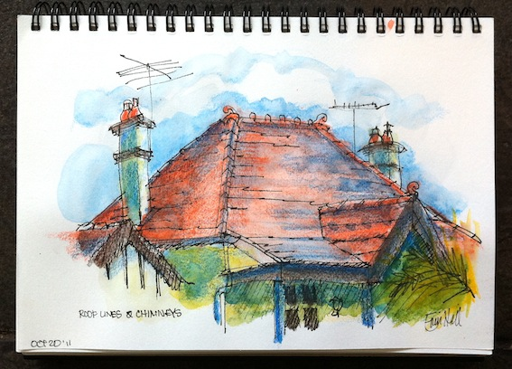 Roof lines & Chimneys -All 6 colours