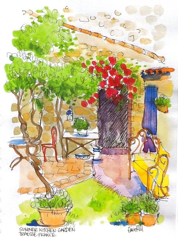 Summer Kitchen Garden