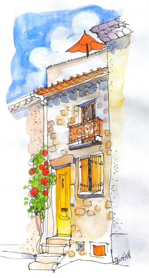 The Littlest Cottage. 28 Rue des Remparts