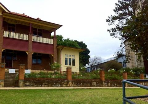 Our Cockatoo Island home