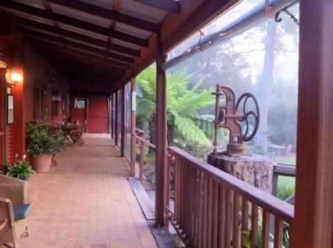 Early on the verandah