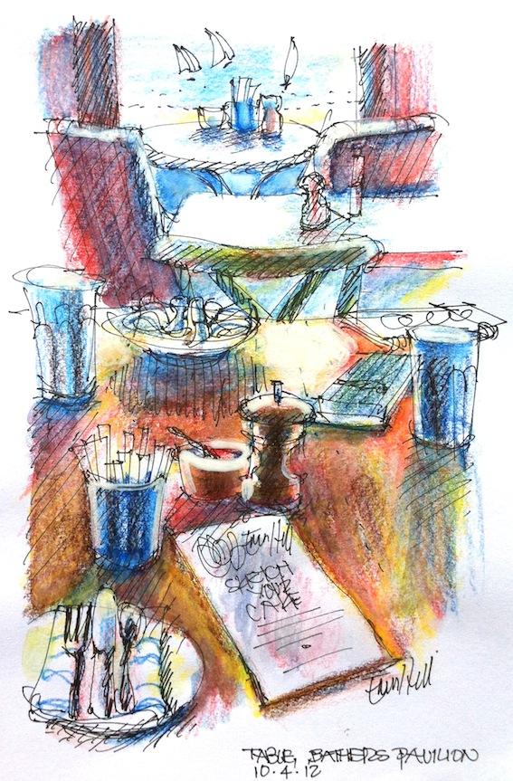 The Cafe, Bathers' Pavilion Sydney