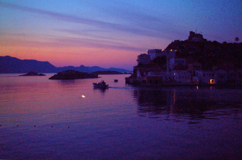 Evening Kastellorizo