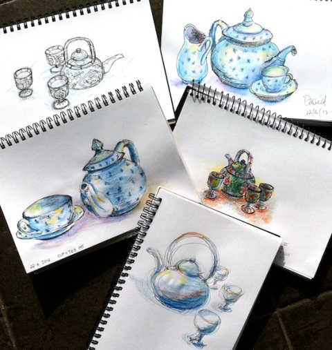 Friday June 22 Class. Teapots