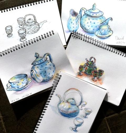 Friday June 22 Class. Teapots