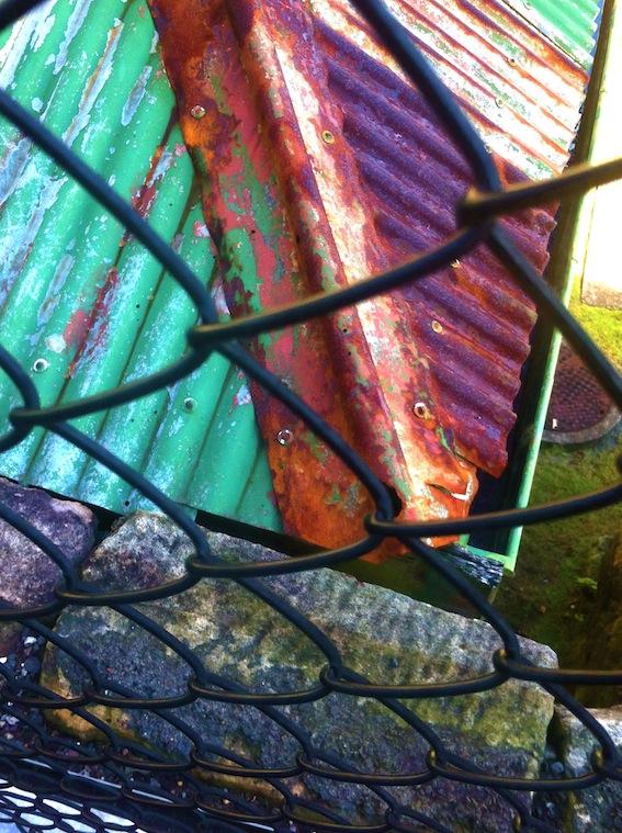 Rock wire rust