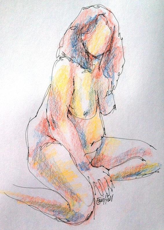 Rosie, 5 min sketch
