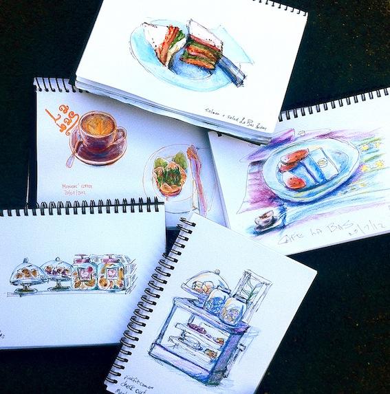 Cafe la Bas sketches