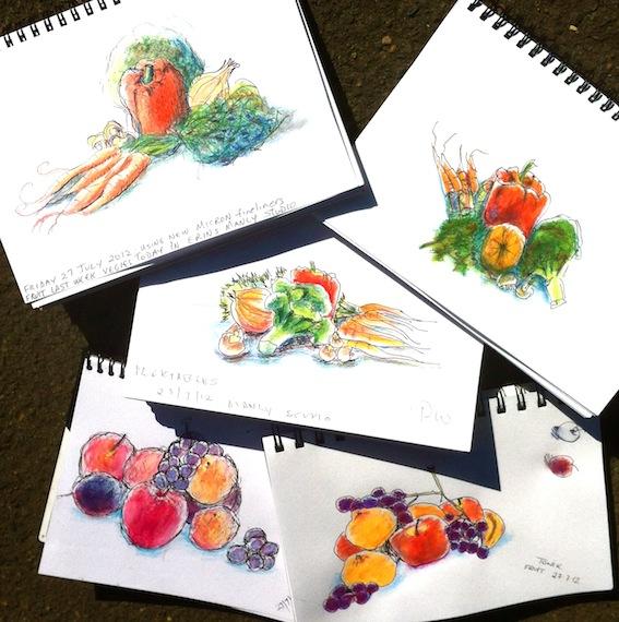 Friday Fruit & Veg Still Life