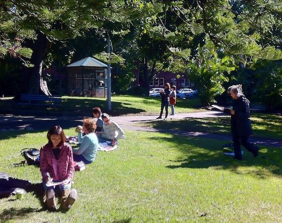 Coffee & Sketching at Gilbert Park