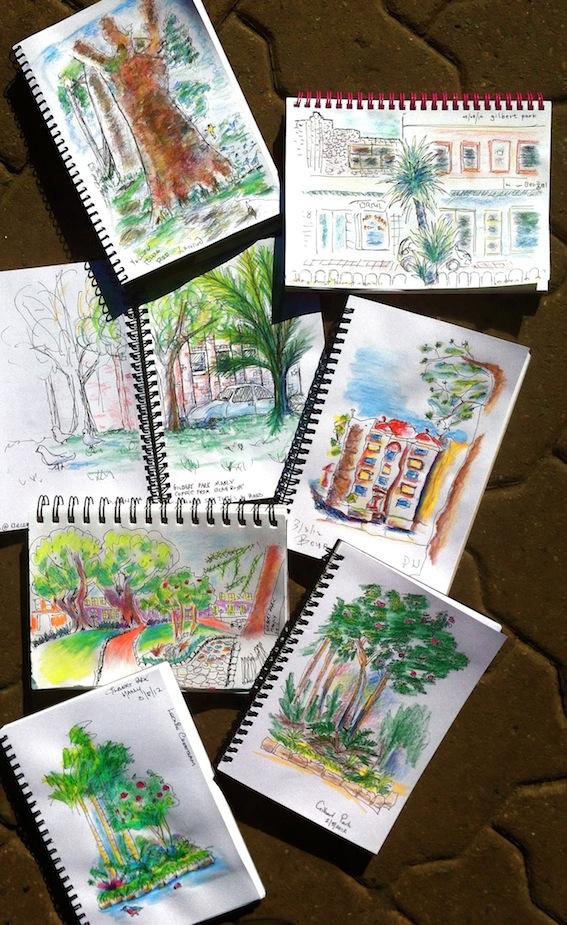 Gilbert. Park Sketches