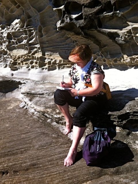 Therese, Pearl Beach and Rocks