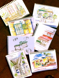 Thursday Aug 9 House detail Sketches
