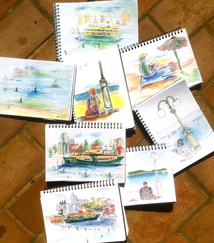 Manly Cove Sketches