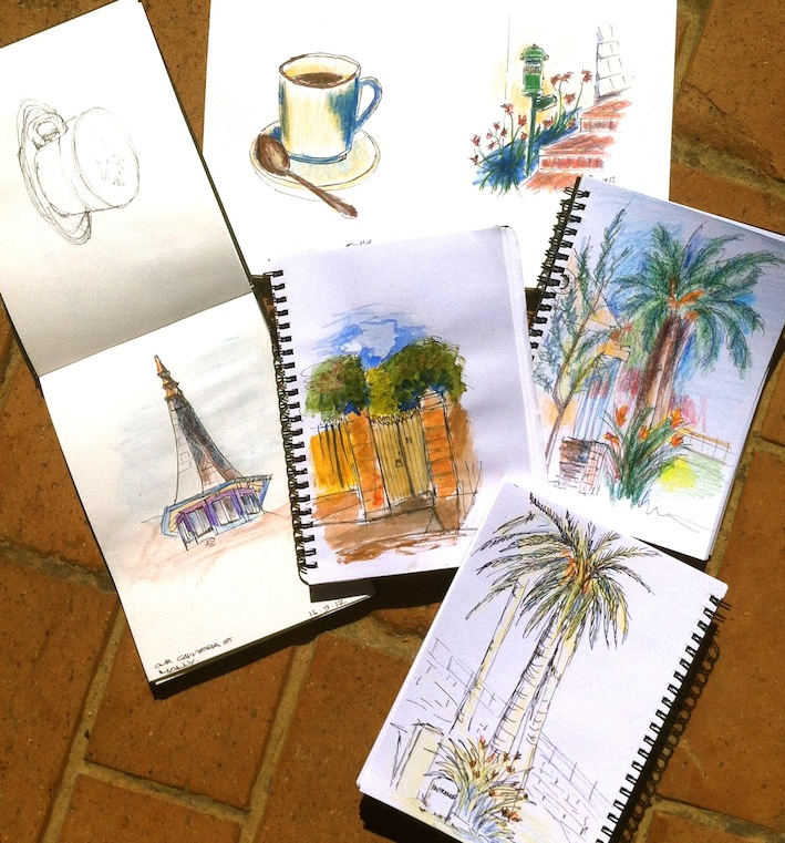 Sunday Sept 16. Street Sketches