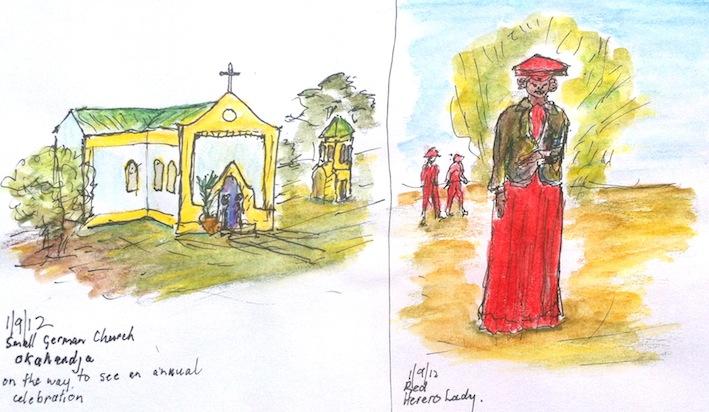 Jenny C. Tiny Church and Herero Lady