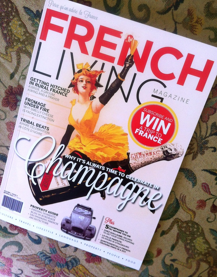 Read all about it. Living in France