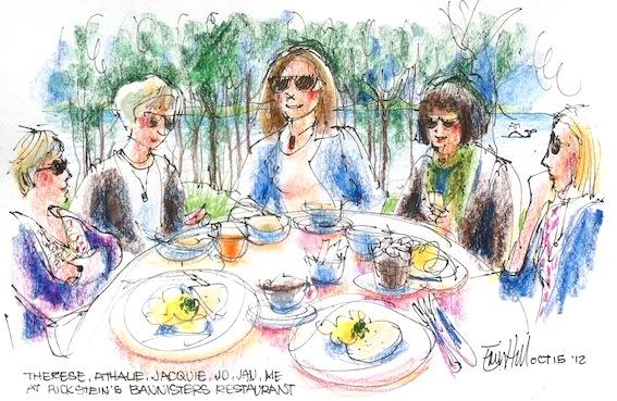 Rick Stein's Bannister's Restaurant - breakfast