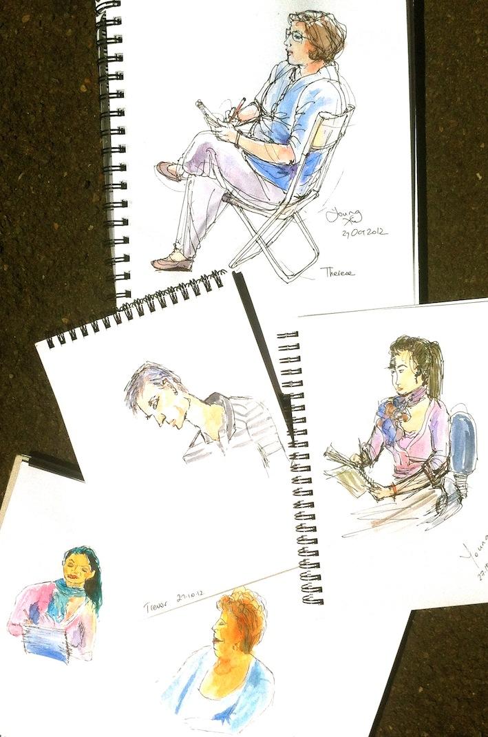 Sat Oct 27. Sketching us
