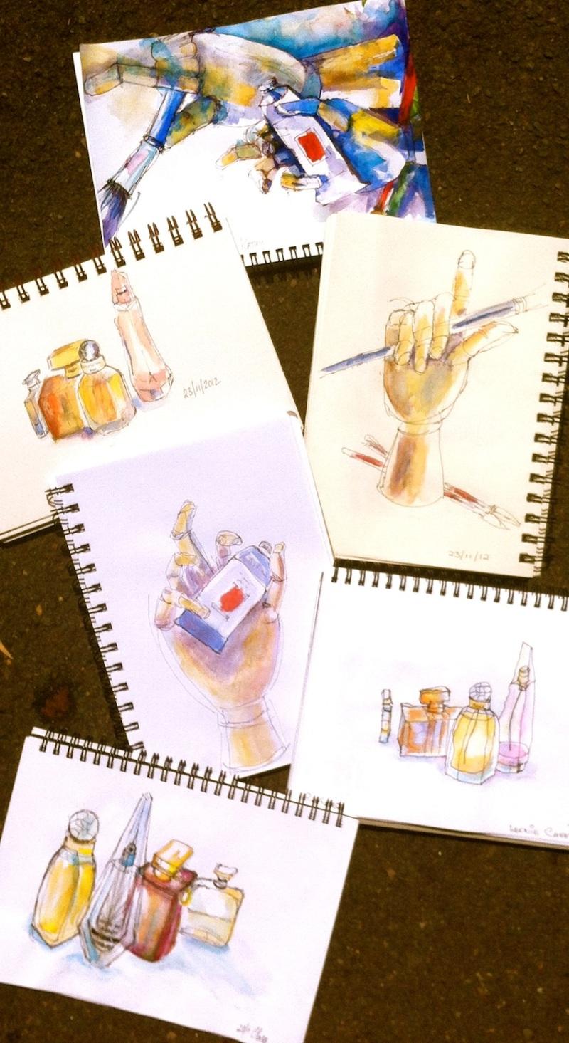 Fri Nov 23. Wooden hands & fragrance