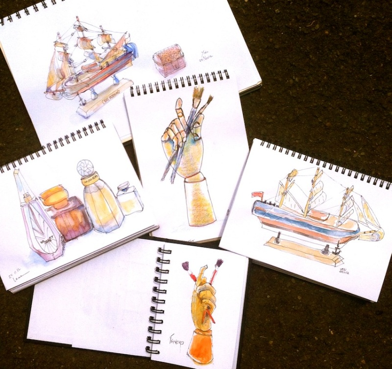 Sat Nov 24. Boats, Bottles & Brushes