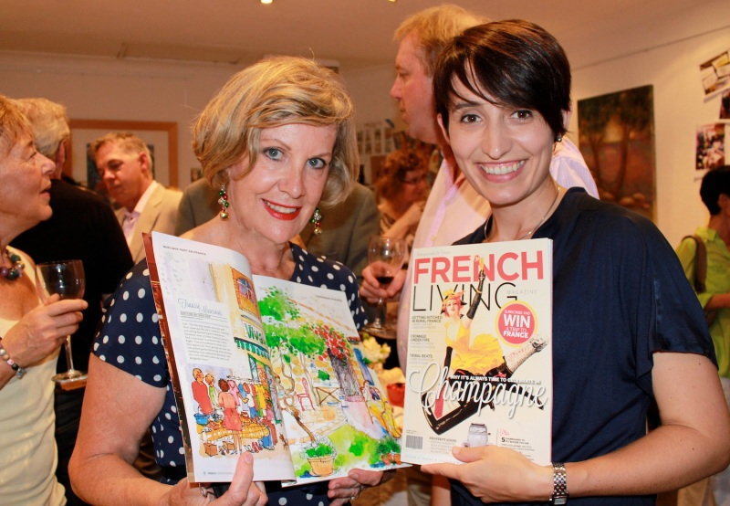 French Living magazine joins the Studio Celebrations