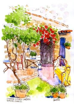 Summer Kitchen Garden, Trausse, France