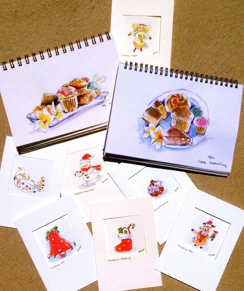 Thurs. Dec 13 '12. Cakes & Christmas