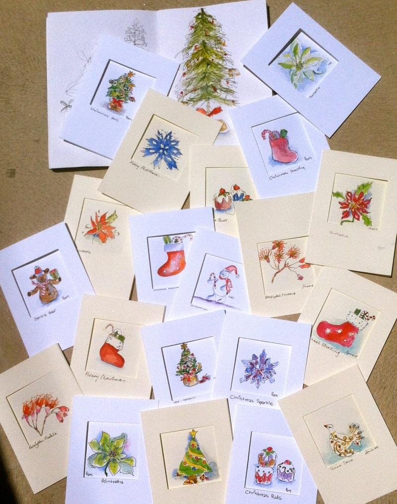 Thurs Dec 6. Cards to celebrate