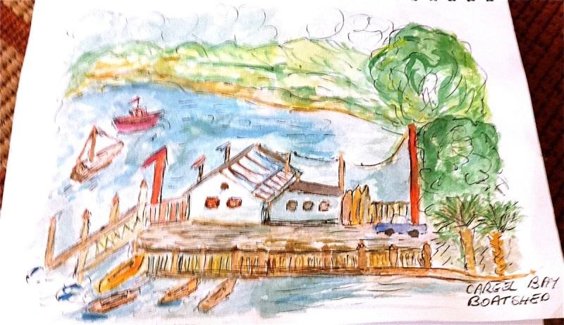 Jan. Careel Bay Boatshed