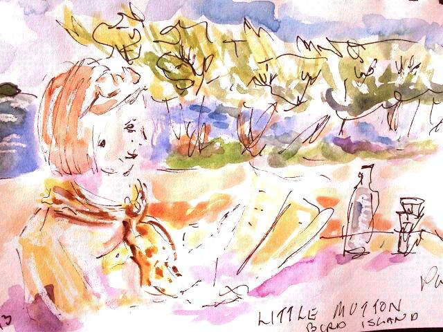 Little Mutton Bird Island by Robbie