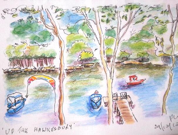 Robbie. Hawkesbury River.