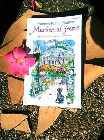 Murder, al fresco, Milo on the cover